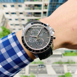 Tissot V8 Black Chrono Watch